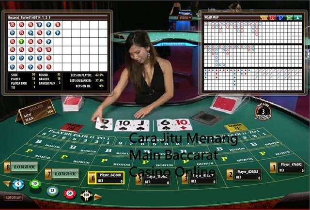 Cara Jitu Menang Main Baccarat Casino Online